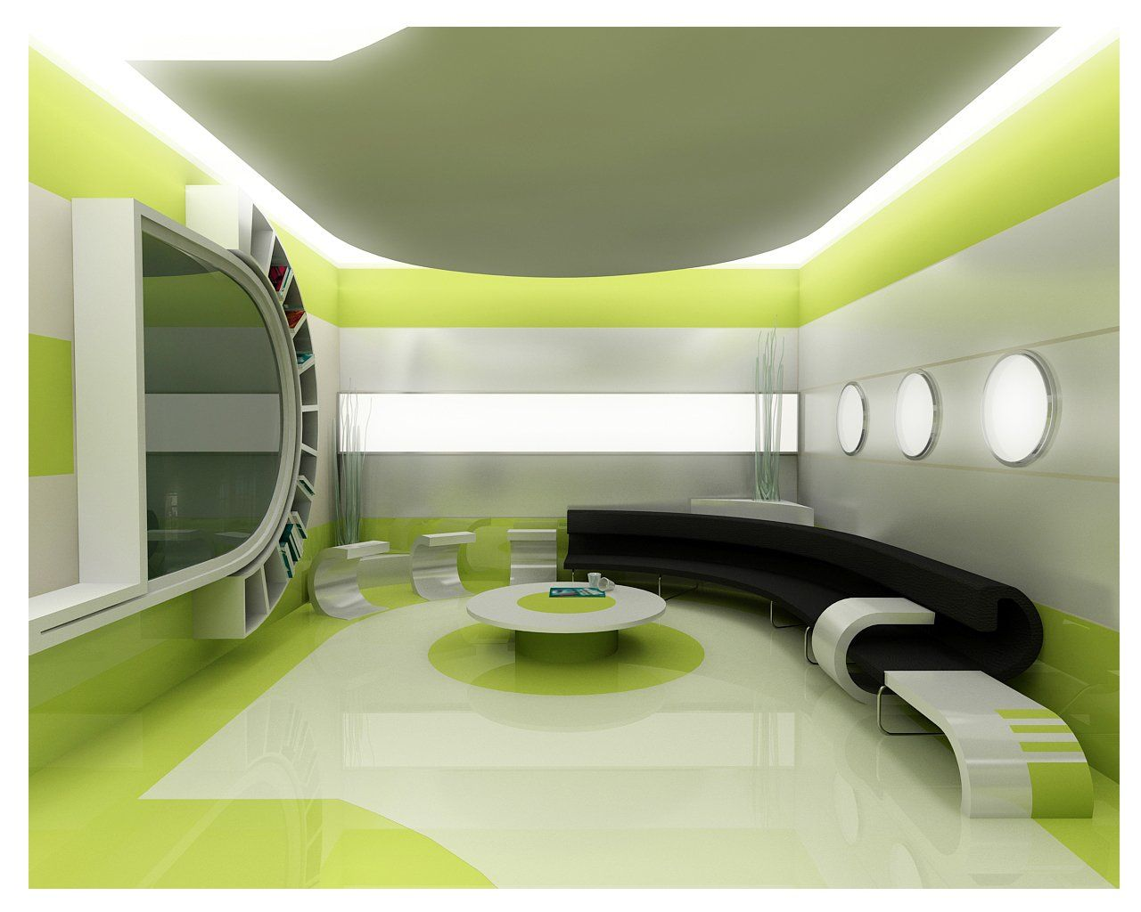 Modern home interior design program with artistic decoration - FC2